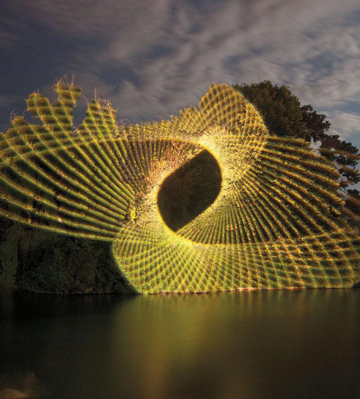 annecy paysages 2019 projection lumière île